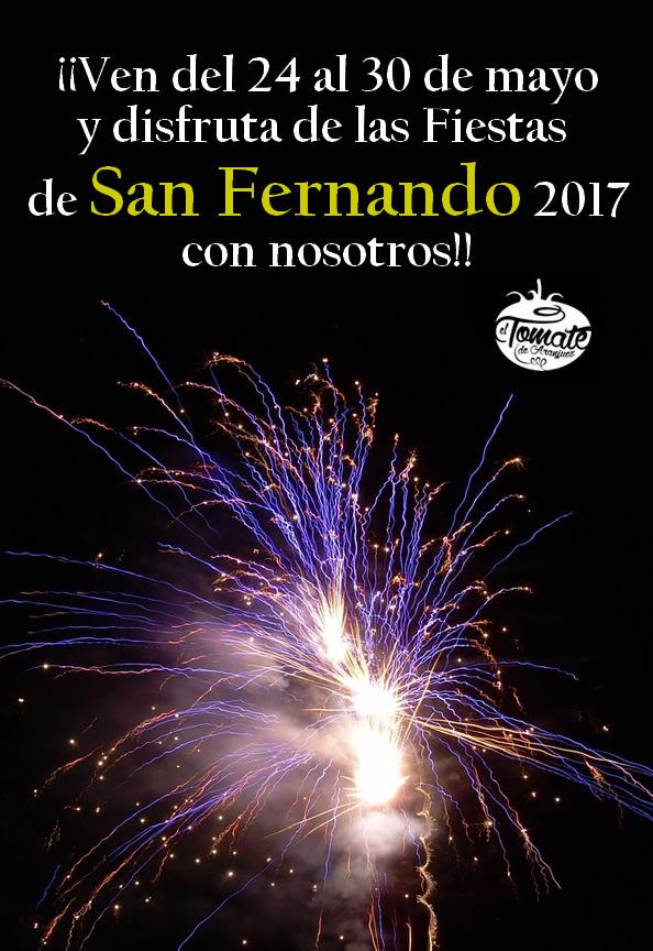 fiestassanfernando - Fiestas de San Fernando 2017
